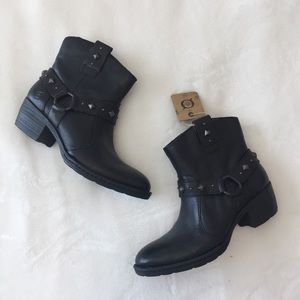 {Born} Studded Ankle Boots
